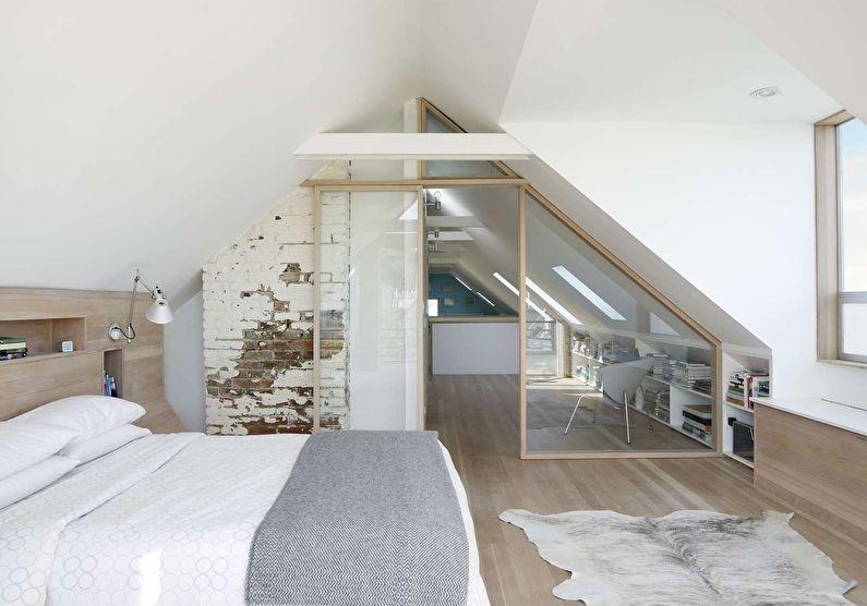 Стеклянные перегородки в интерьере квартиры