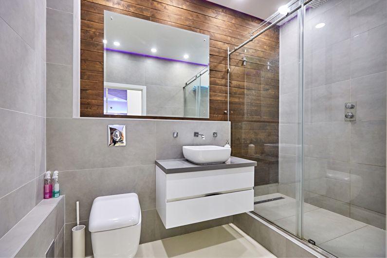 Дизайн ванной комнаты в хрущевке - перепланировка