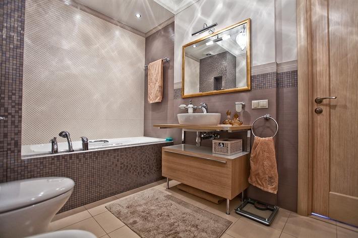 Ванная комната в хрущевке - правильное освещение
