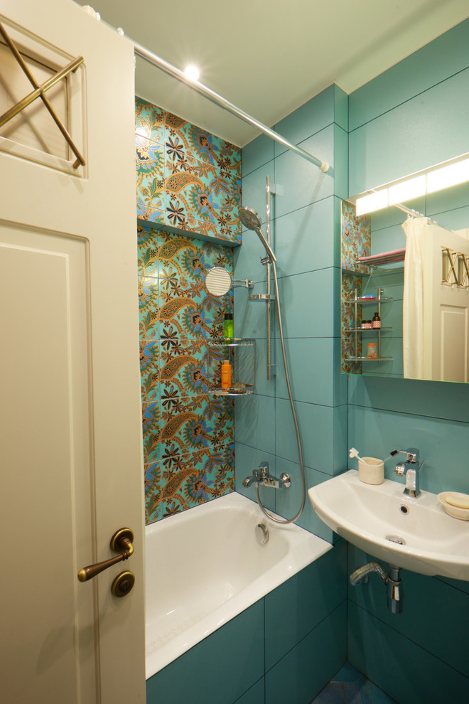 Дизайн интерьера ванной комнаты в хрущевке