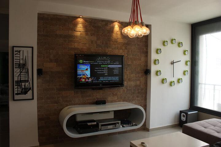 Дизайн ниши под телевизор из гипсокартона