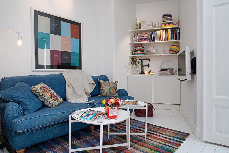 Интерьер маленьких гостиных комнат фото
