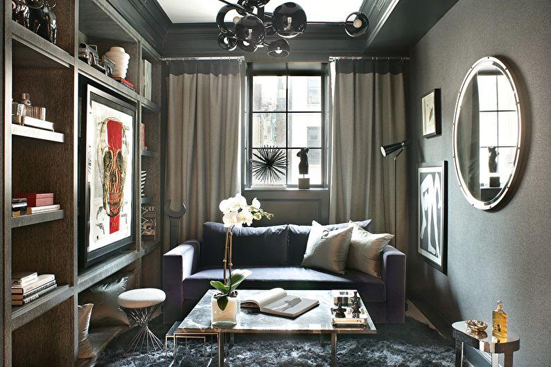 Серый цвет в интерьере: как и где применять
