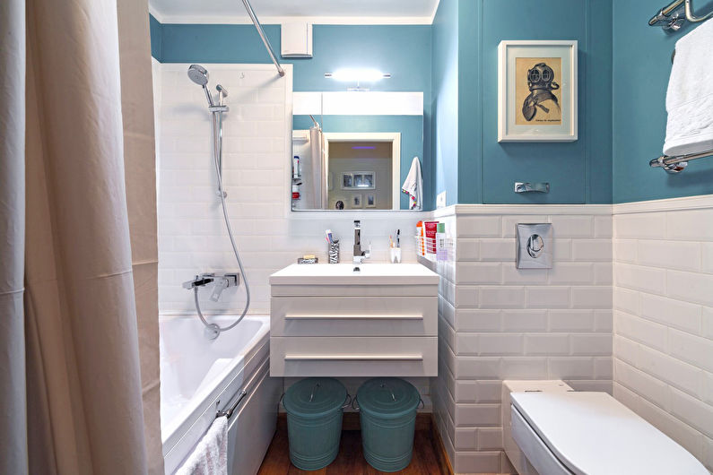 Дизайн <i>решения и дизайн ванной комнаты фото</i> ванной комнаты в хрущевке (70 фото)