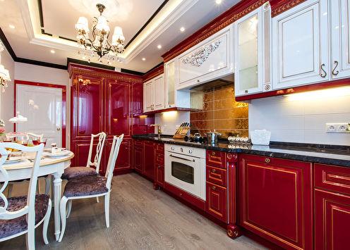 Дизайн кухни в классическом стиле (+65 фото)