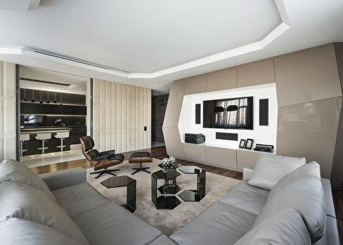 «Уютный футуризм»: Квартира 190 м2