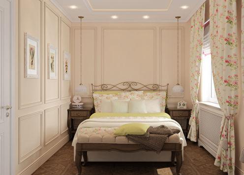 «Запах розы»: Спальня в стиле прованс