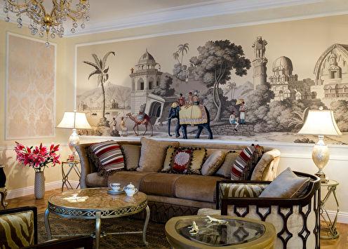 Дизайн квартиры в колониальном стиле