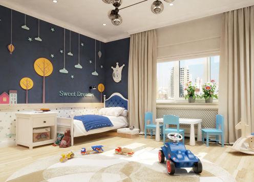 Welcome To Our World: Детская для двух мальчиков