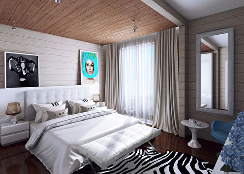 Спальня для современной девушки