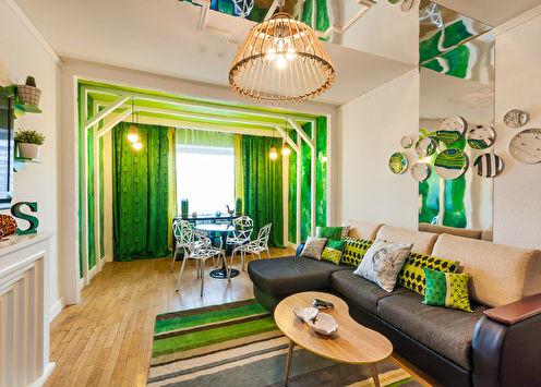 Интерьер гостиной для передачи «ПРО Декор»