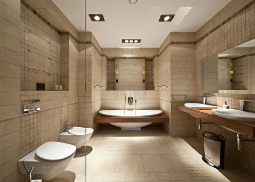 Ванная комната «Брутальная эргономика»