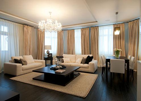 Квартира «Современная классика», 120 кв.м.