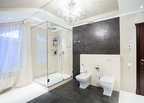 Интерьер ванной комнаты, Екатеринбург