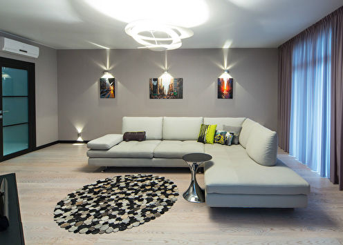 Квартира в современном стиле, 100 м2