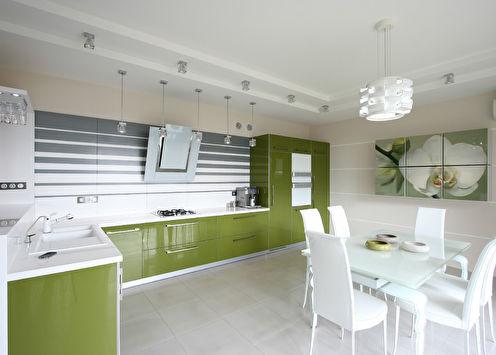Кухня «Вкус белой орхидеи»