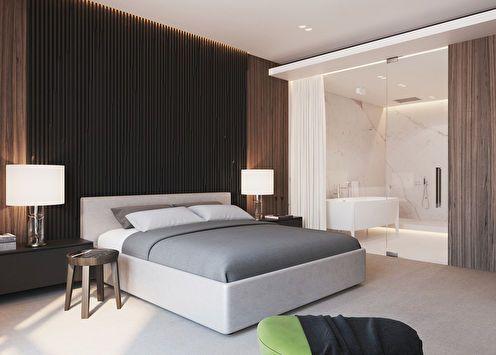 Спальня «Дом в сосновом бору»