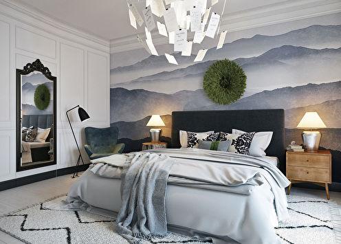 «Скандинавские сны»: Спальня 20 кв.м.