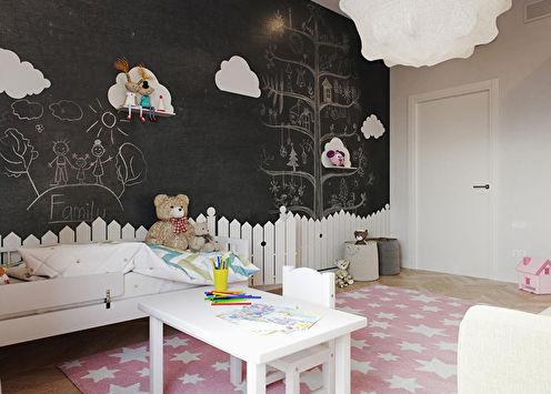 Детская комната «Розовые мечты»