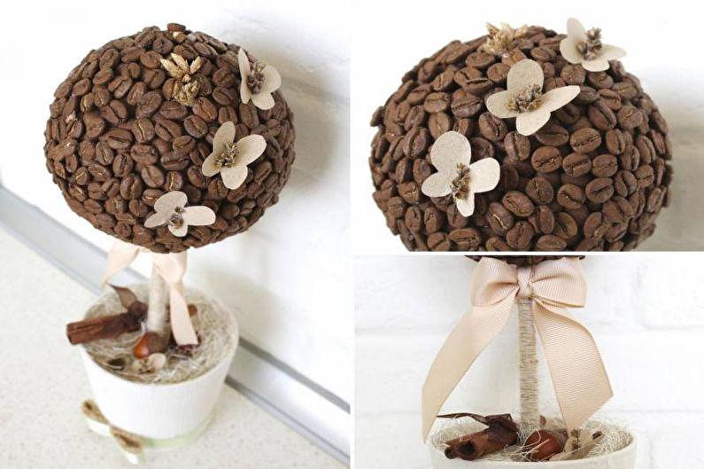 Что такое топиарий из кофе