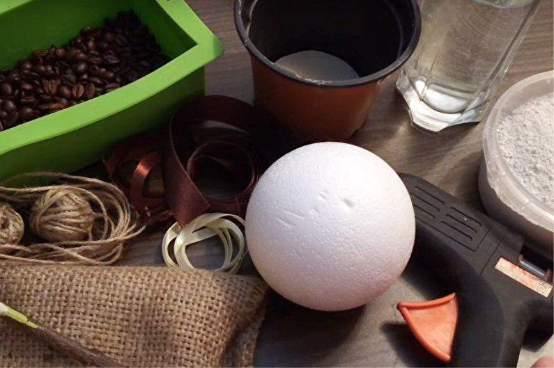 Кофейное дерево своими руками - Пошаговая инструкция