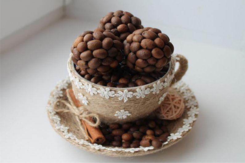 полный кружка из кофейных зерен своими руками фото кто подскажет