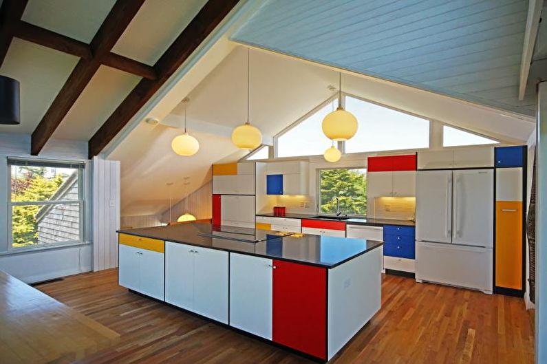 Красивые кухни фото - Кухня, вдохновленная современным искусством