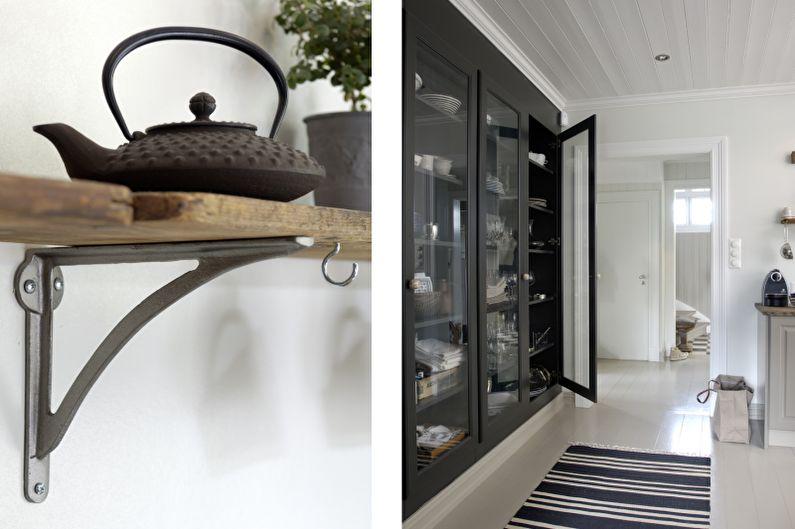 Красивые кухни фото - Винтаж для современной норвежской семьи