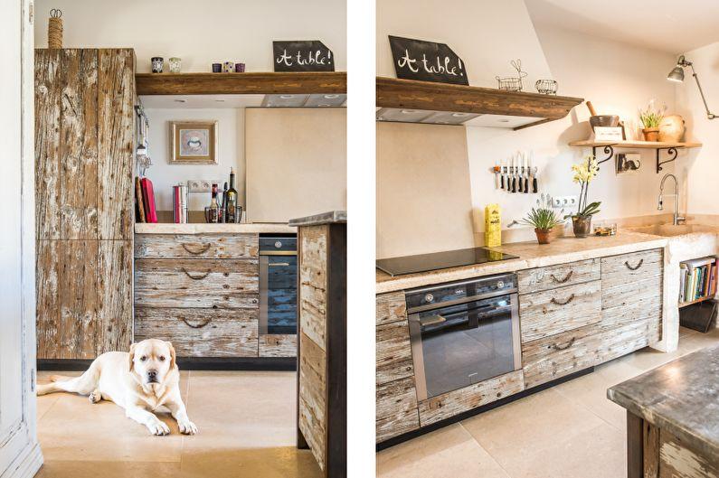 Красивые кухни фото - Красивая кухня в Провансе
