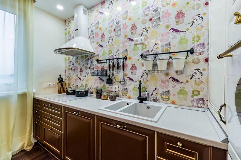 Красивые кухни фото - Кухня-столовая 9 кв.м.