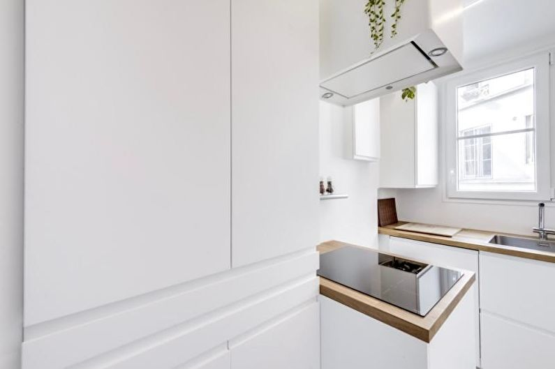 Красивые кухни фото - Кухня 5 кв.м. в Париже