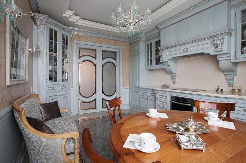 Кухня-столовая в классическом стиле - Дизайн интерьера