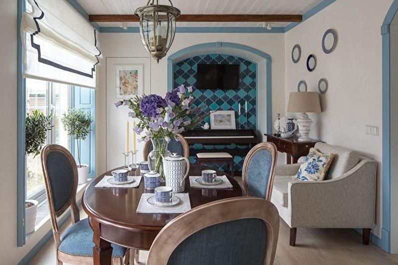 Дизайн интерьера в средиземноморском стиле - Особенности