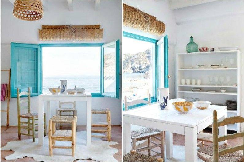 Дизайн интерьера в средиземноморском стиле - Декор и освещение