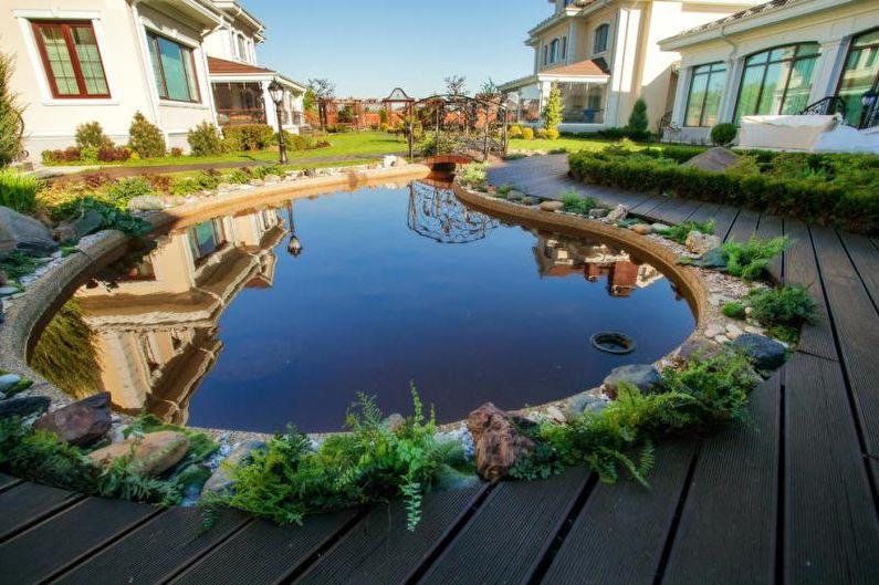 Каменный сад - Клумба на даче, идеи для ландшафтного дизайна