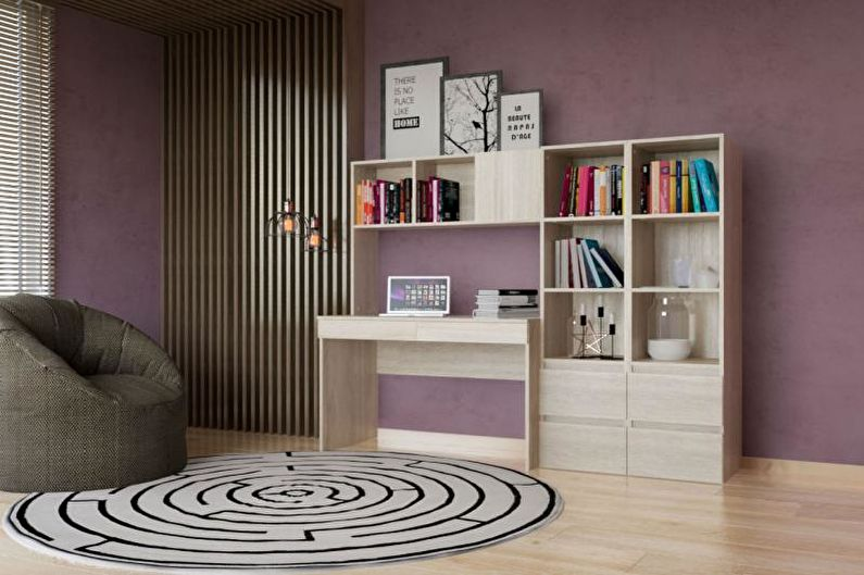 dizain-komnati-dly-podrostka - Эргономика мебели
