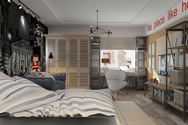 дизайн комнаты для подростка 60 фото идеи интерьеров