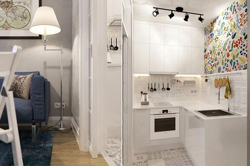 Дизайн кухни-студии - Перегородки