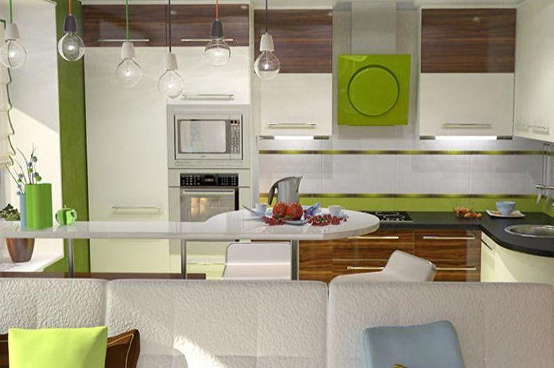 Дизайн кухни-студии - Мебель