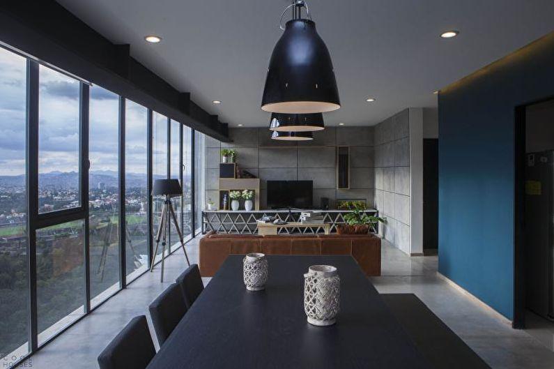 Дизайн квартиры в современном стиле - Особенности