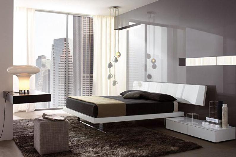 Спальня - Дизайн квартиры в современном стиле