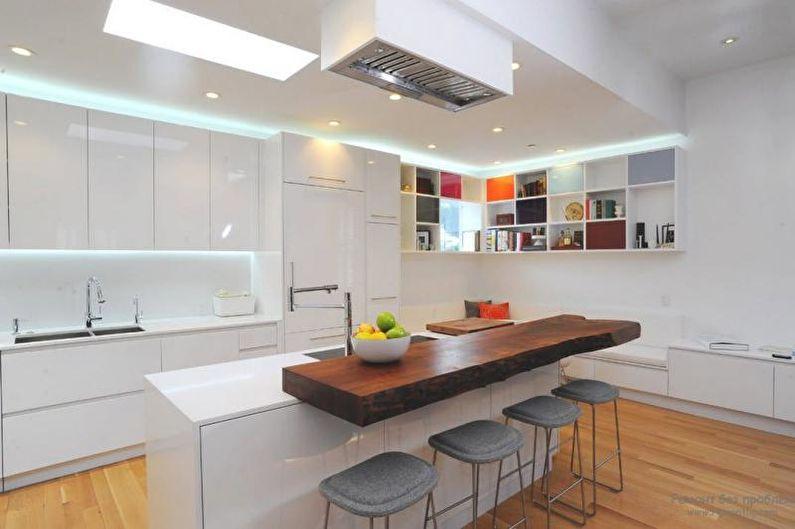 Кухня - Дизайн квартиры в современном стиле