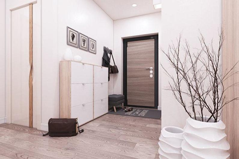 Прихожая - Дизайн квартиры в современном стиле
