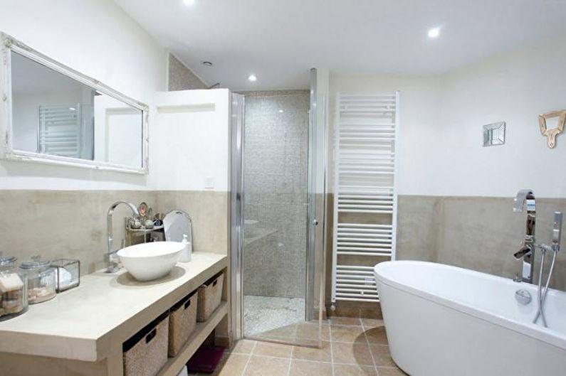 Ванная комната - Дизайн квартиры в современном стиле