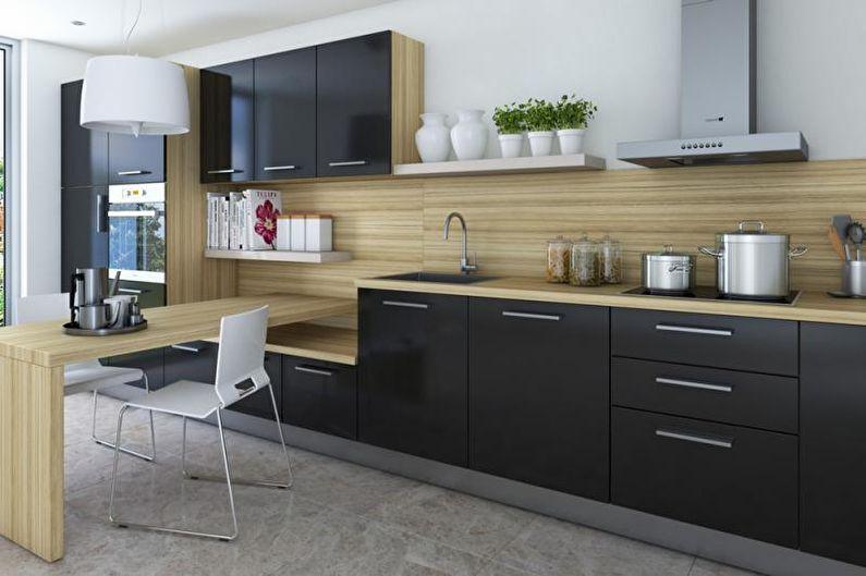 Дизайн интерьера квартиры в современном стиле - фото