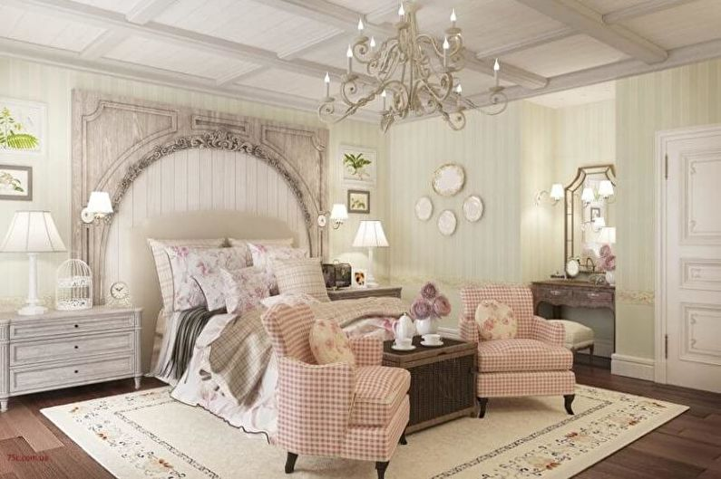 Дизайн интерьера квартиры в стиле прованс - фото