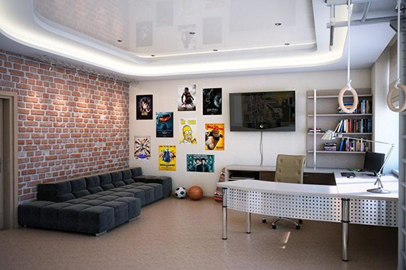 Дизайн комнаты для мальчика-подростка - Особенности