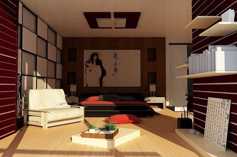 Комната мальчика-подростка в этническом стиле - Дизайн интерьера