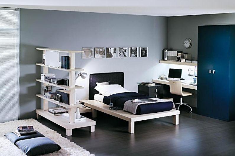 Дизайн комнаты для мальчика-подростка - Мебель