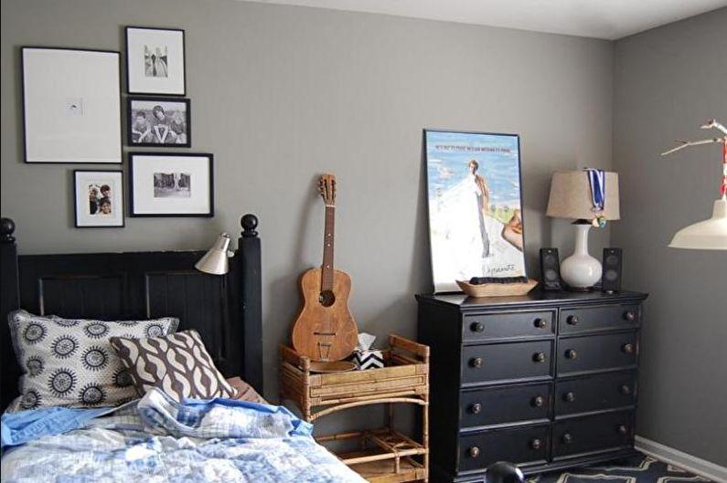 Дизайн комнаты для мальчика-подростка - Декор и аксессуары